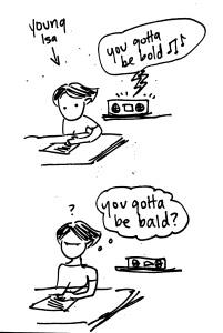 gotta be bald
